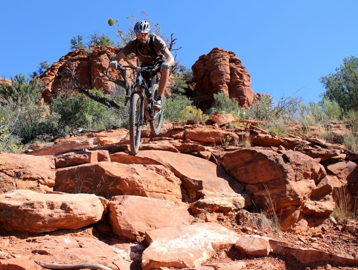 Hiline Trail. Rider: Matt McFee / Hermosa Tours. Photo: Greg Heil
