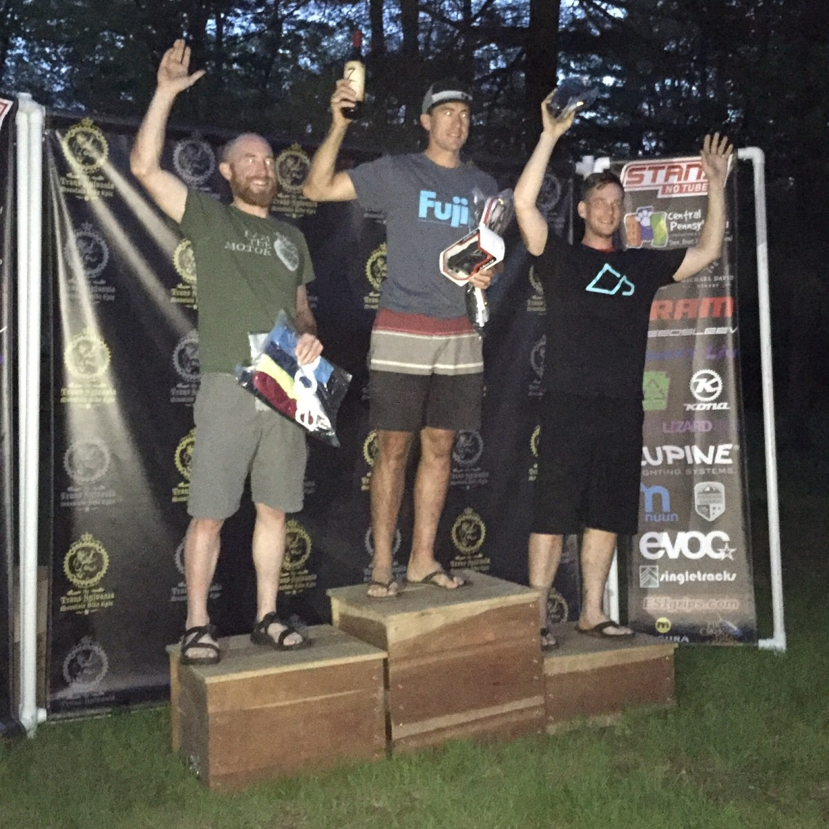 Made the podium!