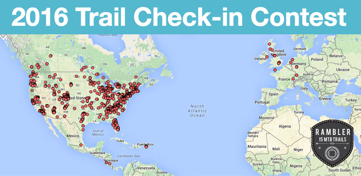 Trail Check-in Contest Starts this Friday, July 1! Prizes
