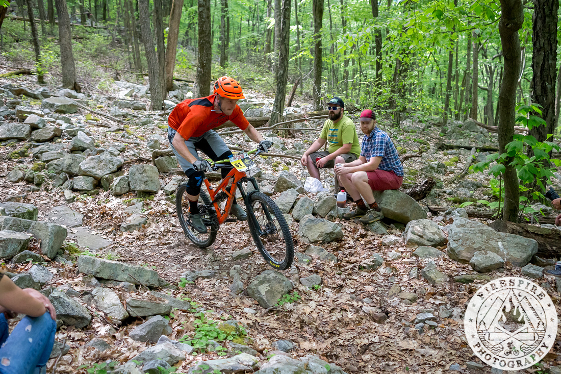 From the bottom of the Wildcat Trail, fall here and there's nothing to land on but rocks (photo: TSEpic Media Team / Firespire Photography)