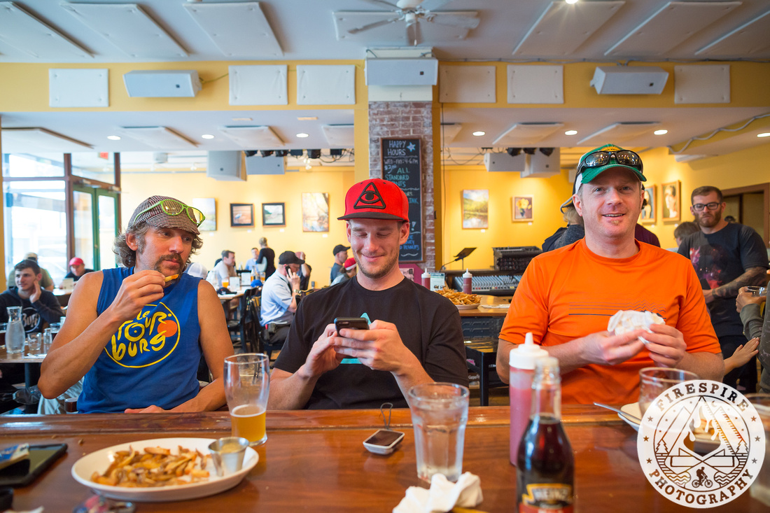 We stopped at the Elk Creek Cafe and Brewery in Millheim, PA, for some tasty beers and food on the way back to camp (photo: TSEpic Media Team / Firespire Photography)