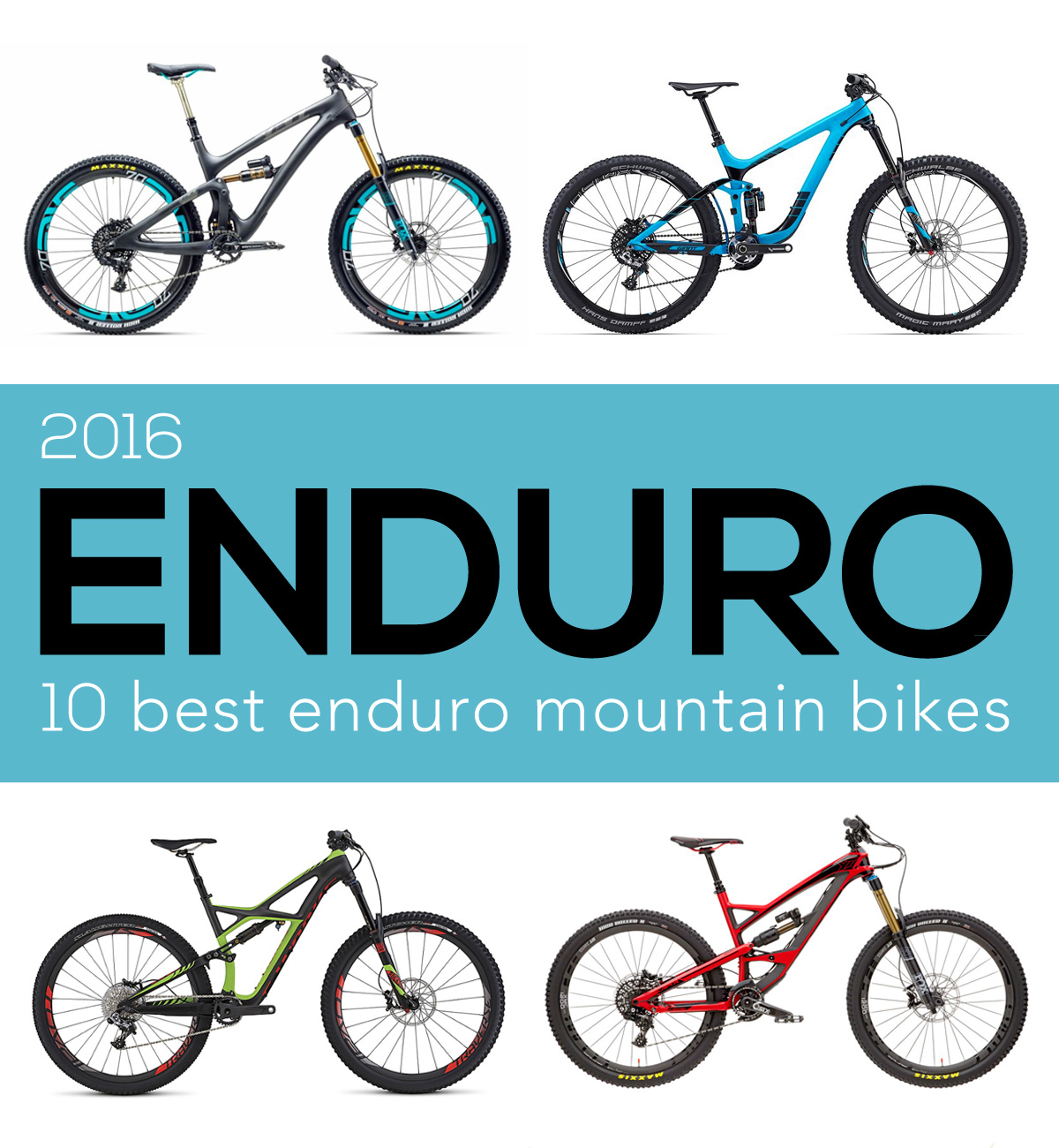 10 best enduro bikes