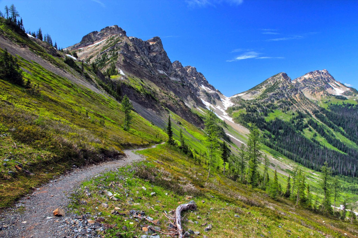 Pacific Crest Trail, Pasayten Wilderness. Photo: andy porter, via Flickr Creative Commons.