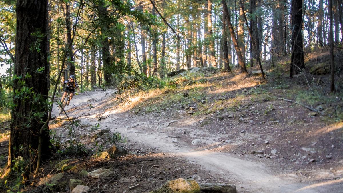 Descending Burma Trail