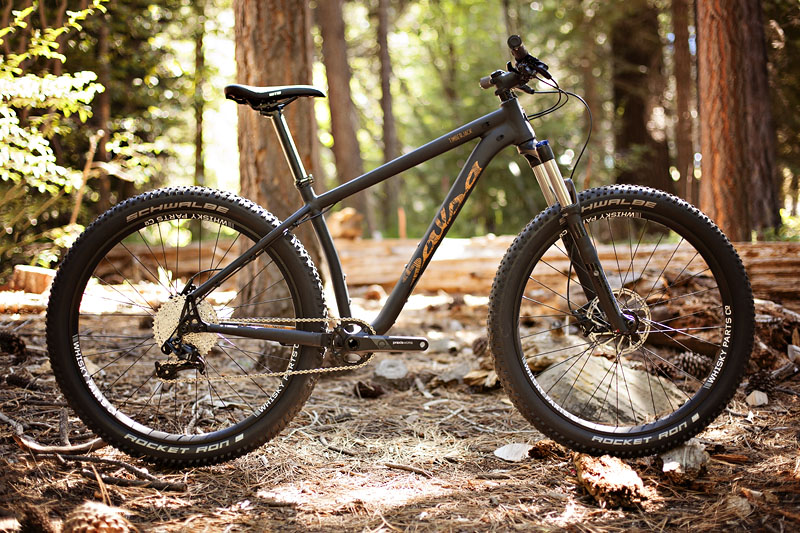 Timberjack 27.5+ GX1 in Matte Gray