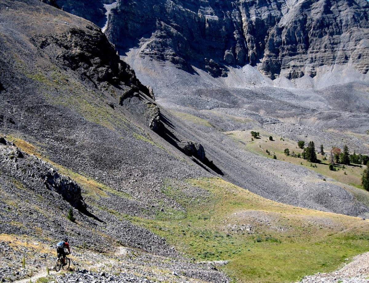 The Nicholia/Deadman Creek loop is a big ride in Big Sky Country (photo: lacemine29blogspot.com)