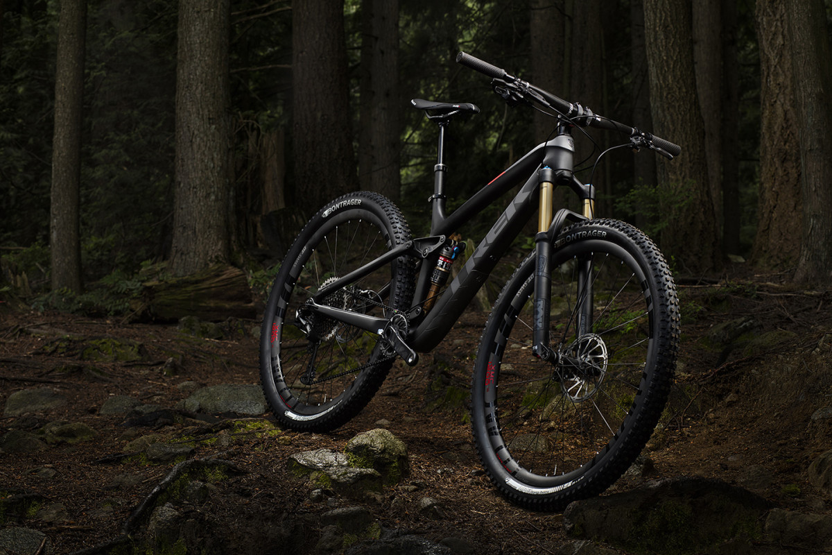 Trek Fuel EX in Squamish, British Columbia, June 2016