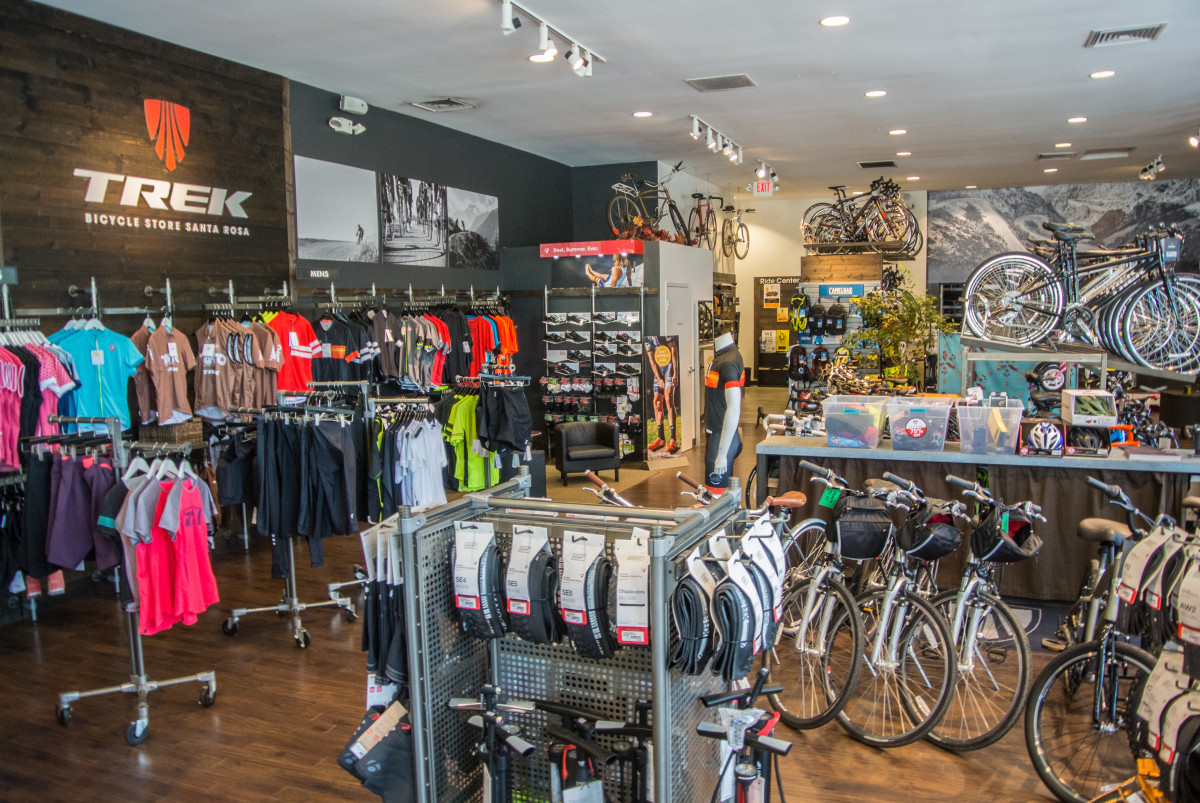 The Trek Store Santa Rosa has everything you could possibly need during your trip