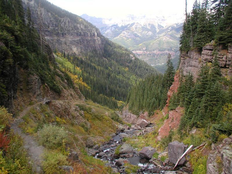 Who wouldn't want to ride this - especially if you've already ridden most everything else in Colorado. Telluride's Wasatch Trail (photo: alskoj)