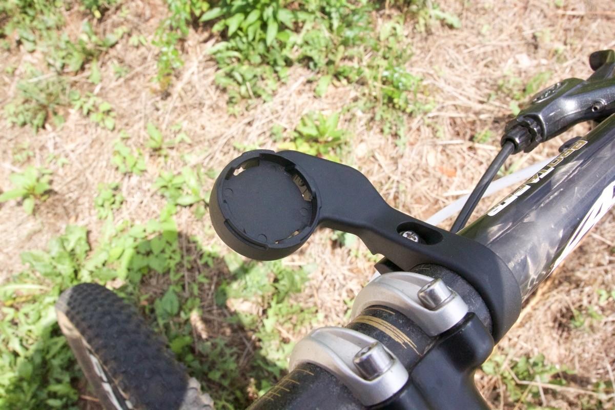 Included handlebar mount.