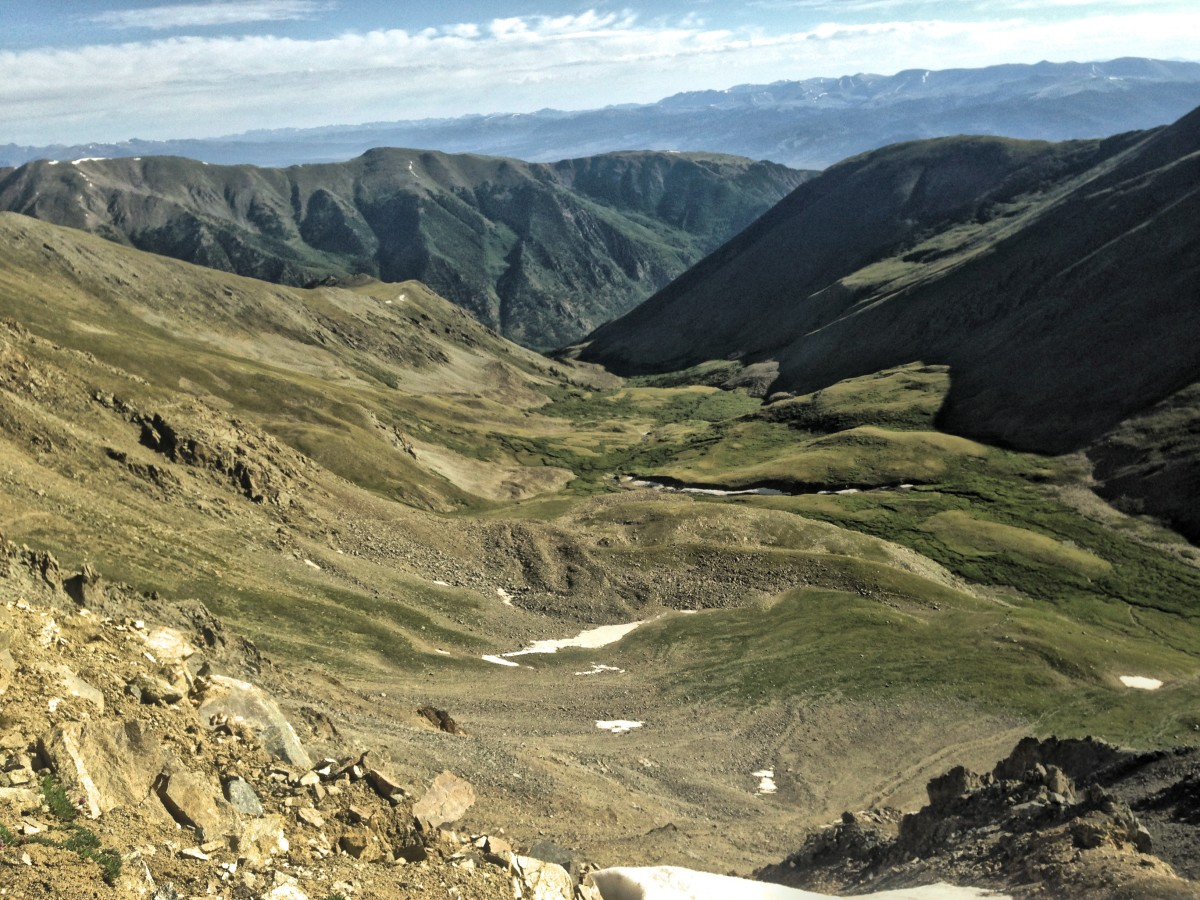 Collegiate Peaks Wilderness. Photo: Greg Heil.