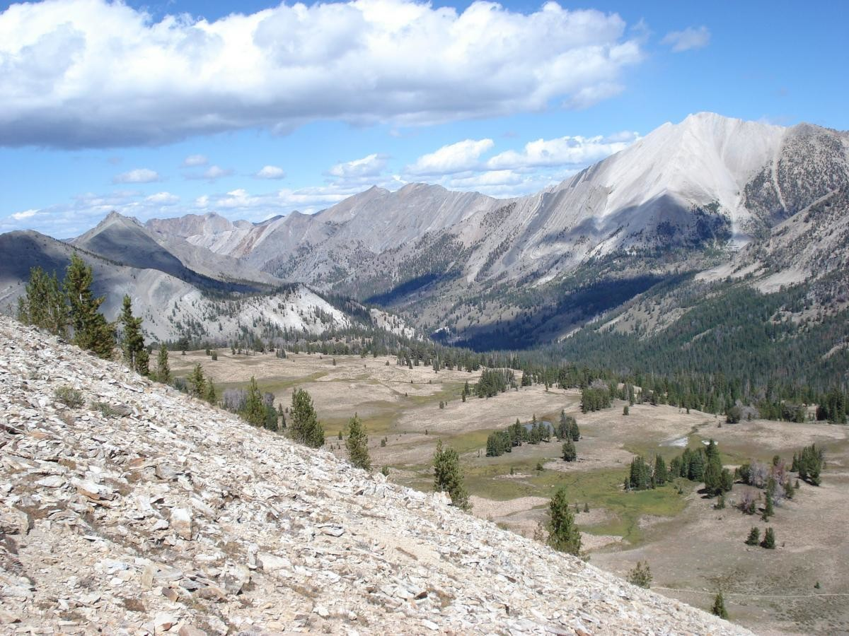 Ants Basin in Idaho, one of many great cycling losses due to recent Wilderness designation (photo: Dauw)