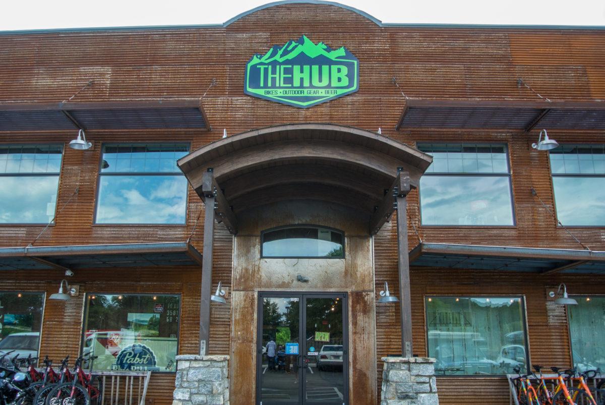 The Hub and Pisgah Tavern (photo: Aaron Chamberlain)