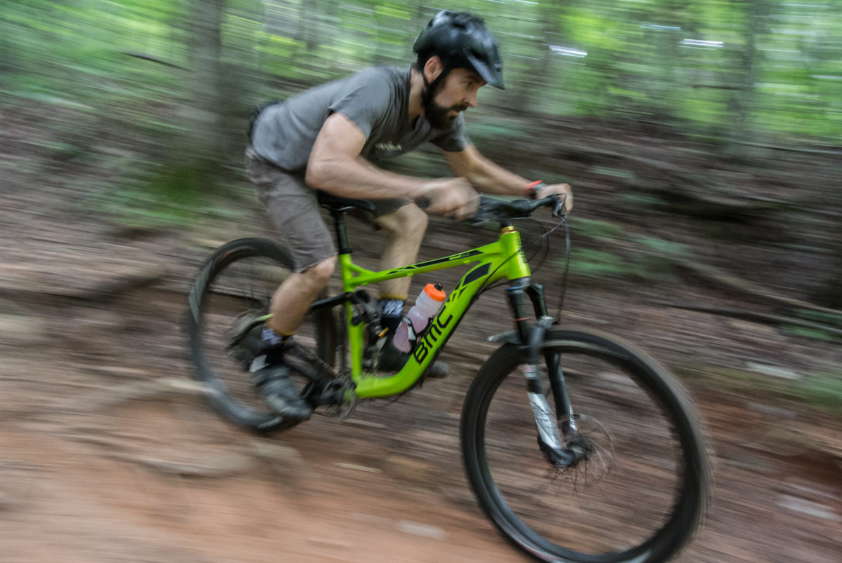 Riding with Bryan from Cane Creek (photo: Aaron Chamberlain)