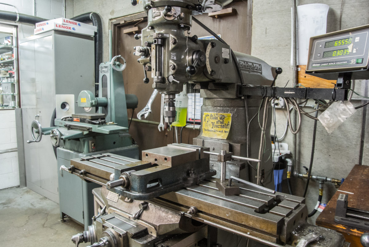 Cane Creek still has a machine shop on site so they can build prototypes in house (photo: Aaron Chamberlain)