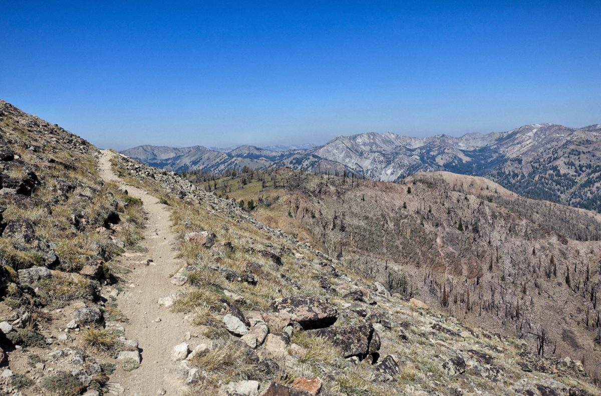 The high point of Osberg's Ridgeline Trail