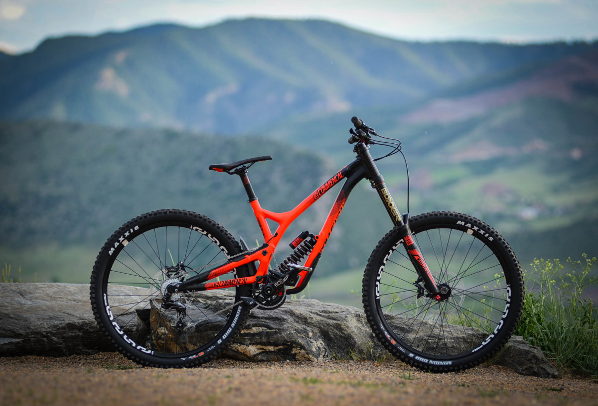 The Commencal DH V4 is a bike that really stands out