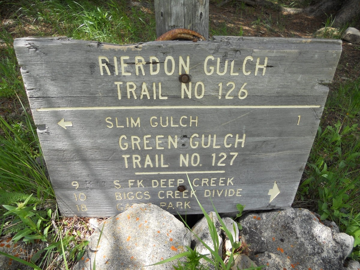 Rierdon Gulch Great Falls Bicycle Club