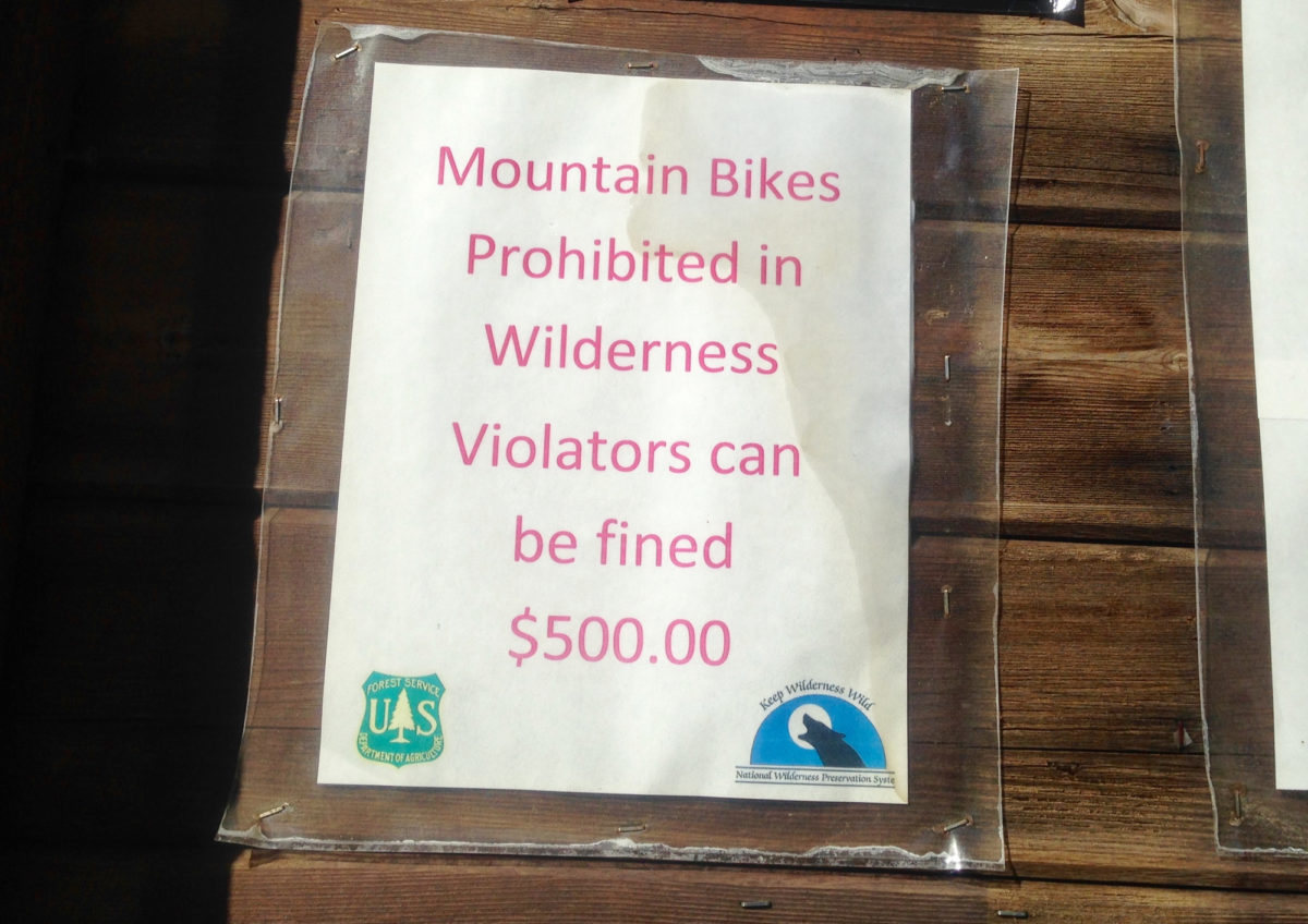 Spotted at a trailhead for the Mount Massive Wilderness. Photo: Greg Heil