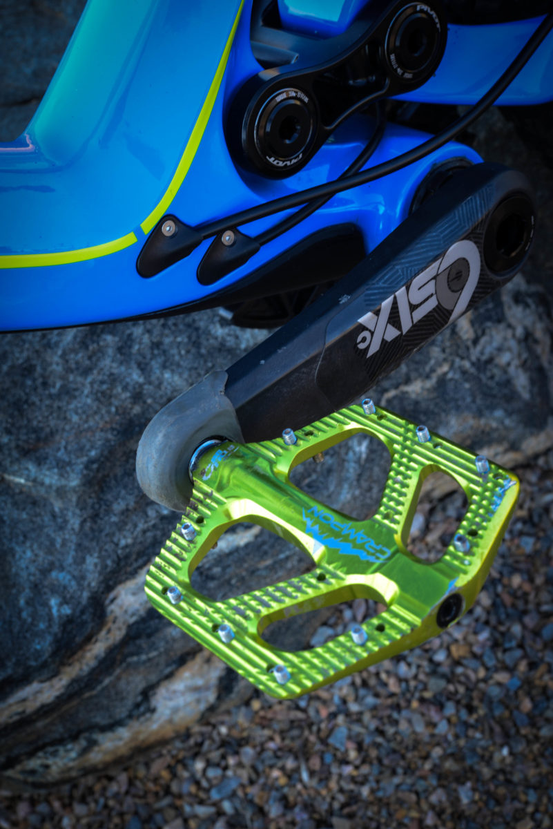 Style matters: these pedals turn heads, and give you one more little thing to make you proud of your bike build