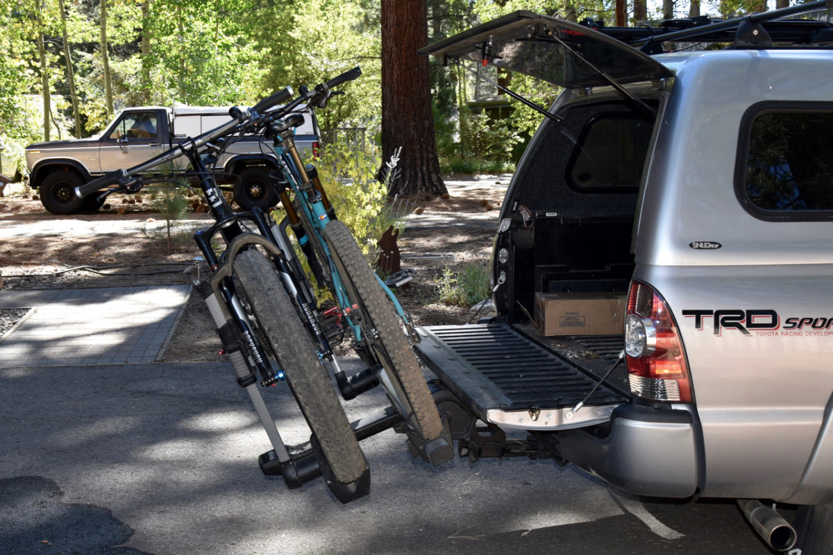 The Thule T2 Turns Pro A Bike Rack Review Singletracks