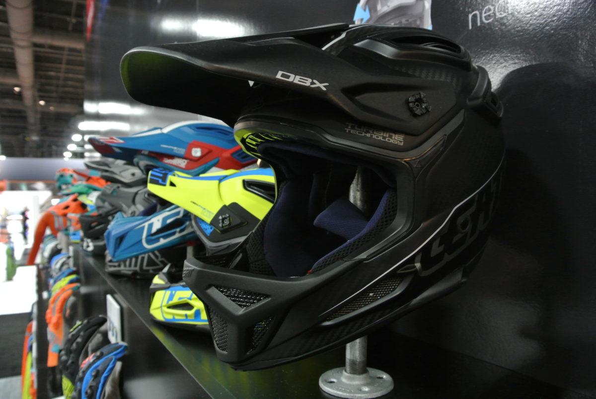 Leatt refined the design of their full face helmet for 2017