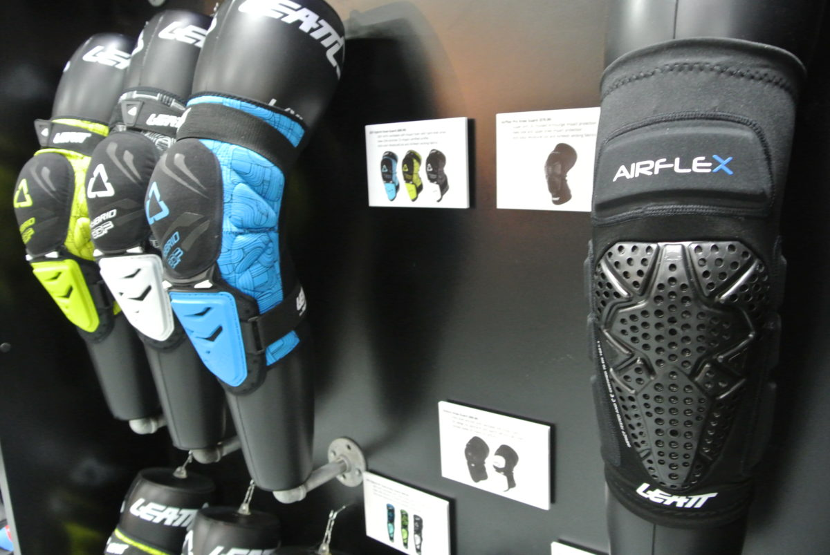 Leatt uses their Armourgel material in their pads as well