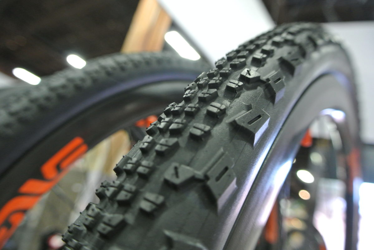 The aggressively-lugged Ravager gravel tire