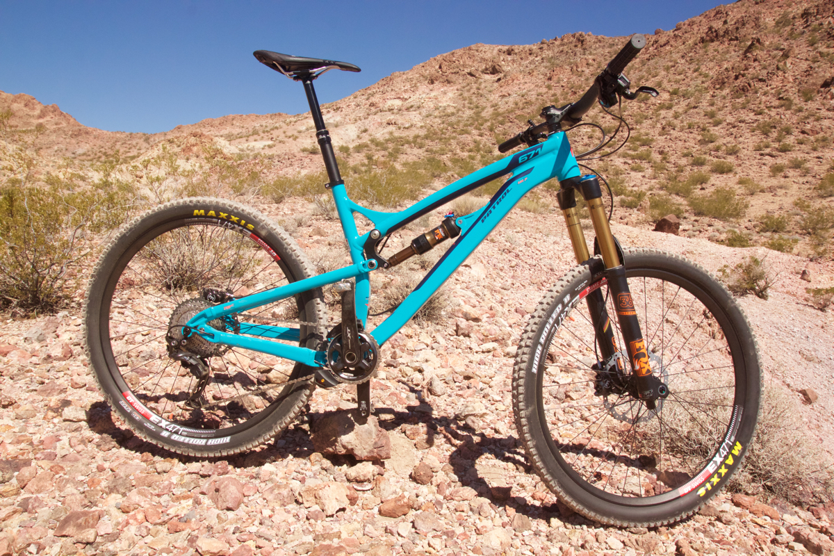 The Patrol 671 is a smartly spec'd alloy bike with 27.5″ wheels, a 160mm  Fox 36 fork, and a Fox Float DPS EVOL shock in the rear. As tested, the  drivetrain ...