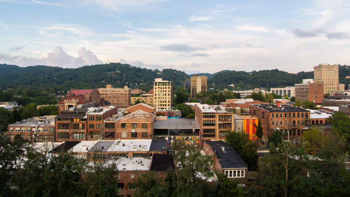 Downtown Asheville, NC (photo: Aaron Chamberlain)