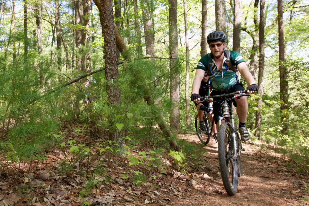 Riding the Pinhoti Trail in North Georgia. Photo: Jeff Barber