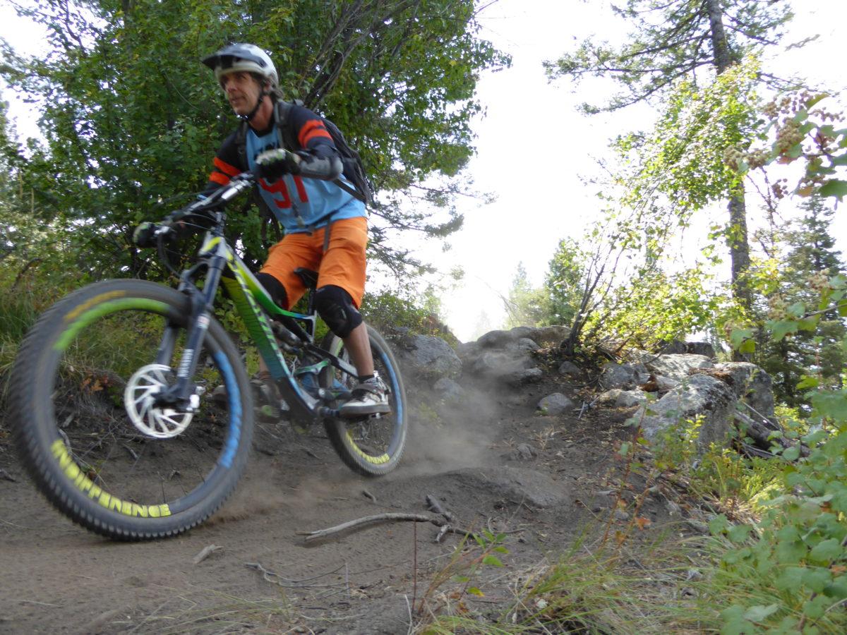 Jug Mountain offers some black diamond downhill trails.