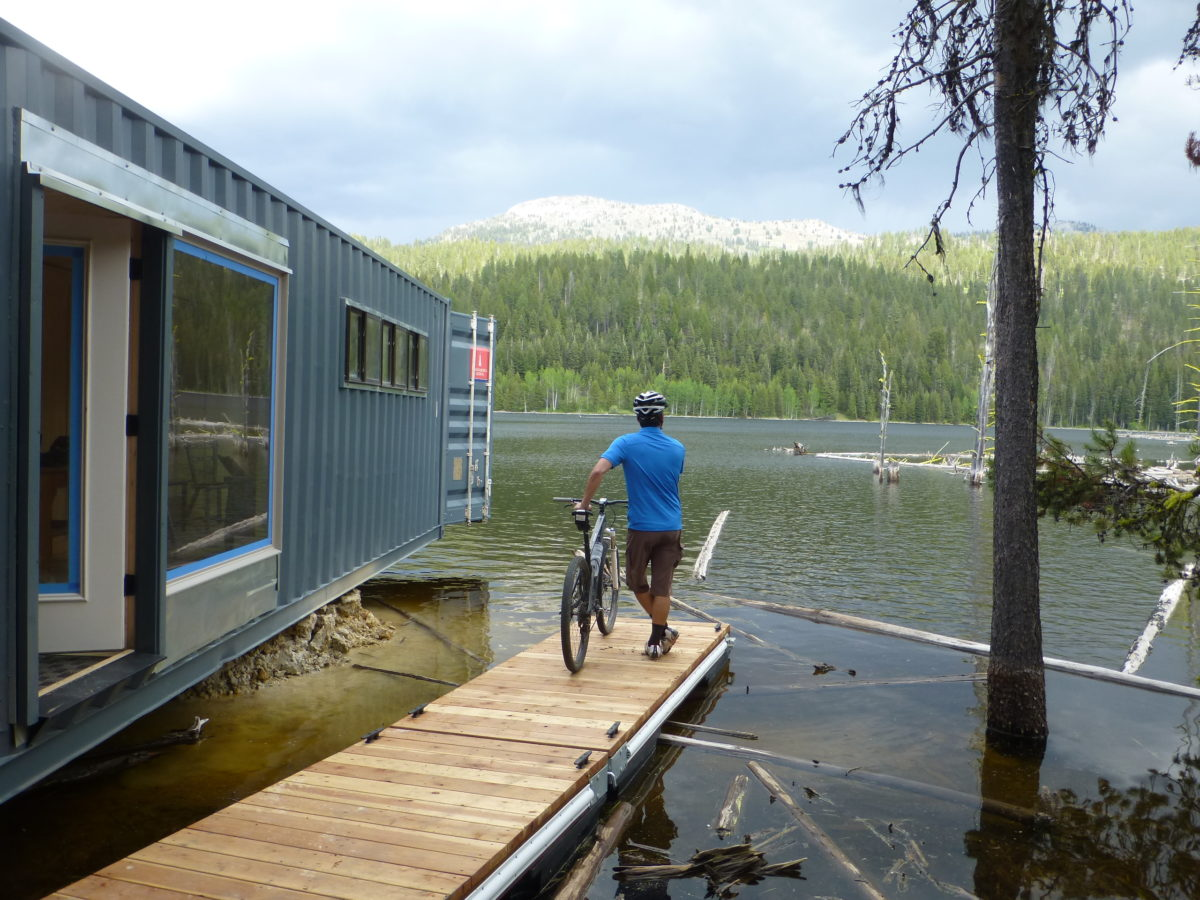 Lake-front lodging for the cost of a decent motel room.