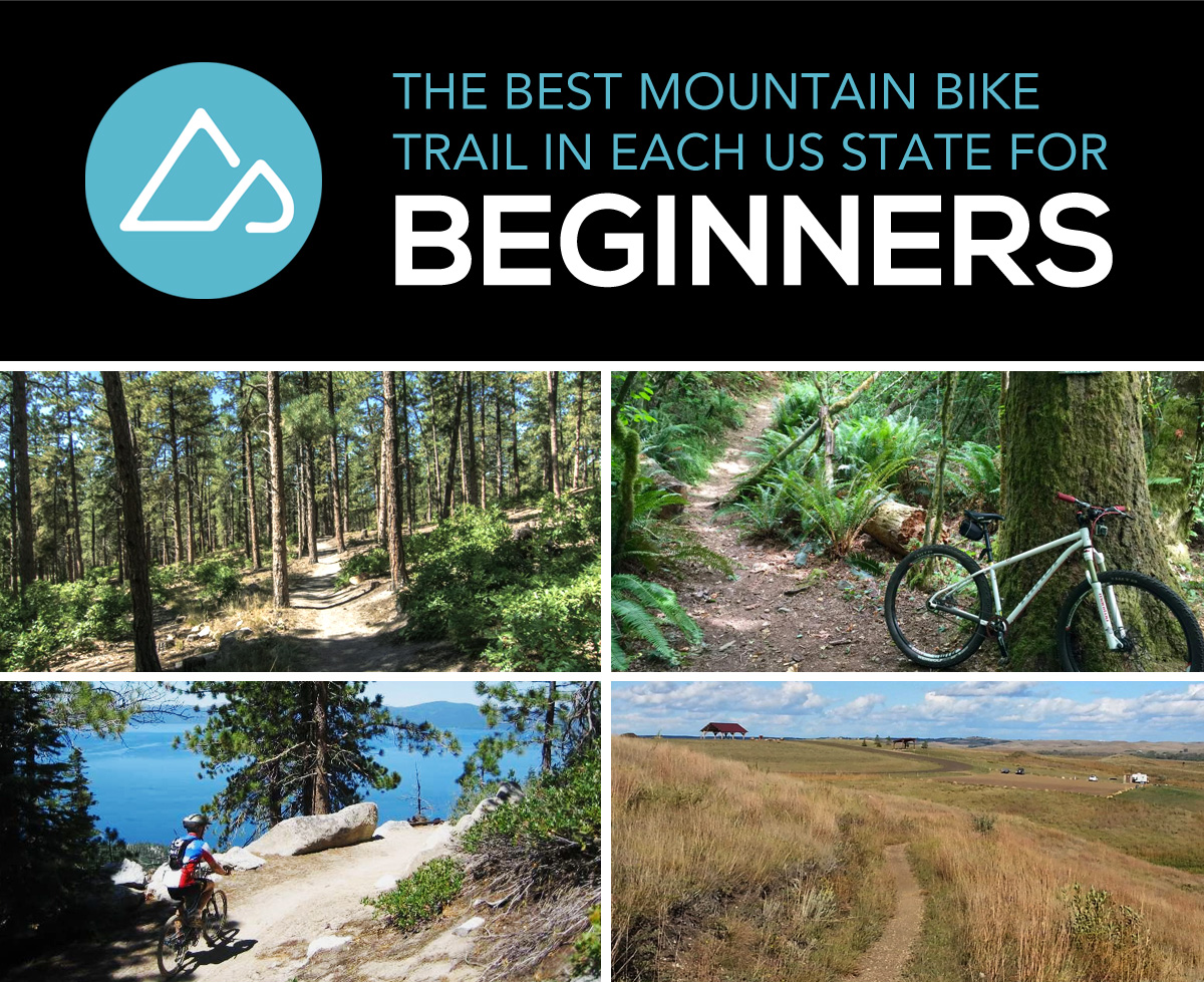 best beginner mountain bike trails