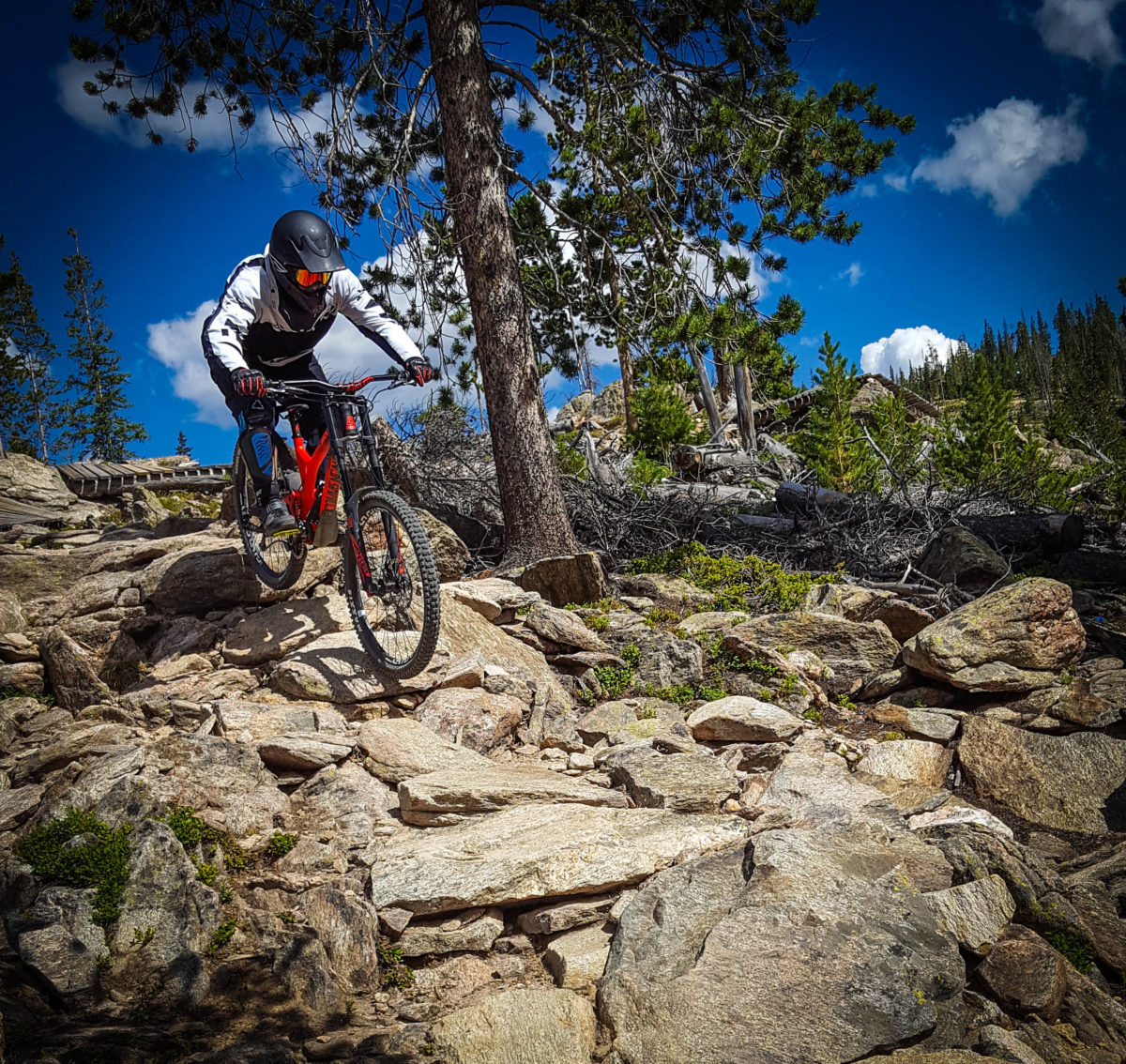 Rocks, rocks, and more rocks. They keep getting easier the more you ride them