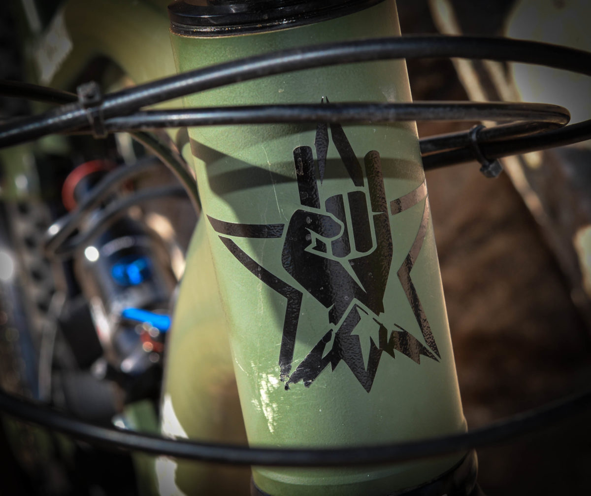 GG prides themselves on quality, handmade aluminum bikes with spectacular welds and bombproof construction