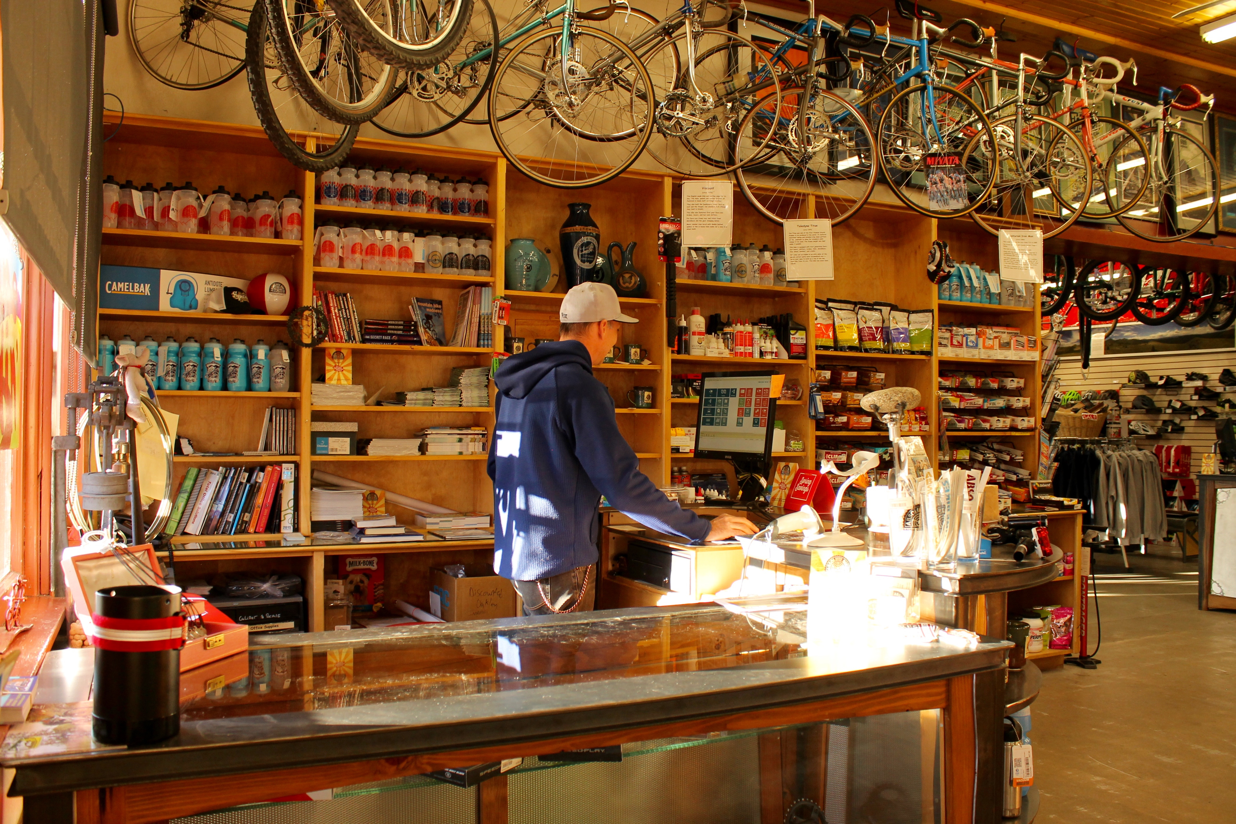 """Over a Beer: """"Let me order that for you """" Why Bike Shops"""
