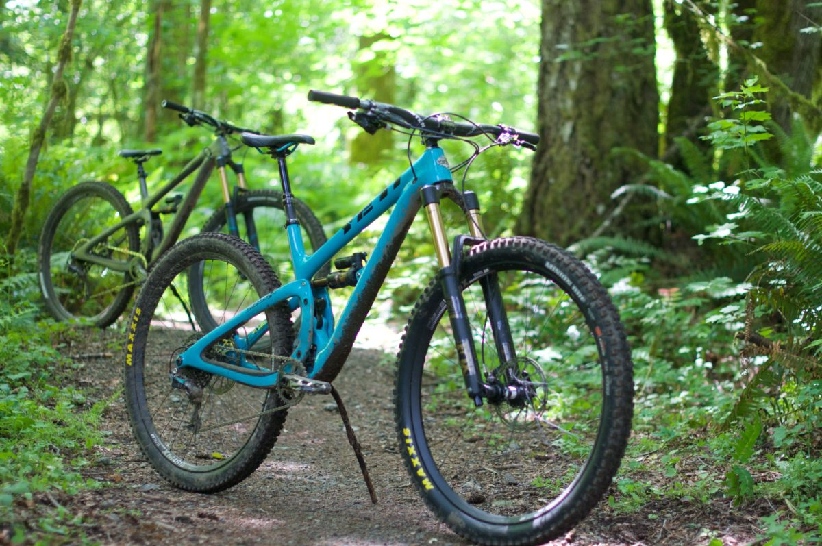 The Yeti SB5.5 is one burly 29er (photo: Sammy Stark)