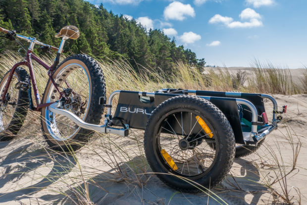 Burley Introduces A Fat Bike Wheel Kit For Cargo Kid