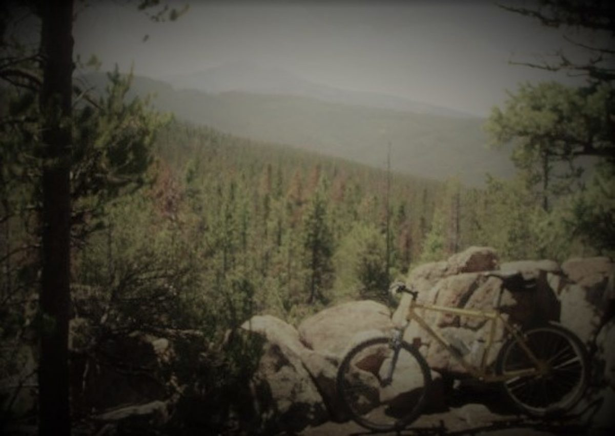 Another early shot of skibum's ol' 26er, here at home in the high country above Butte, Montana