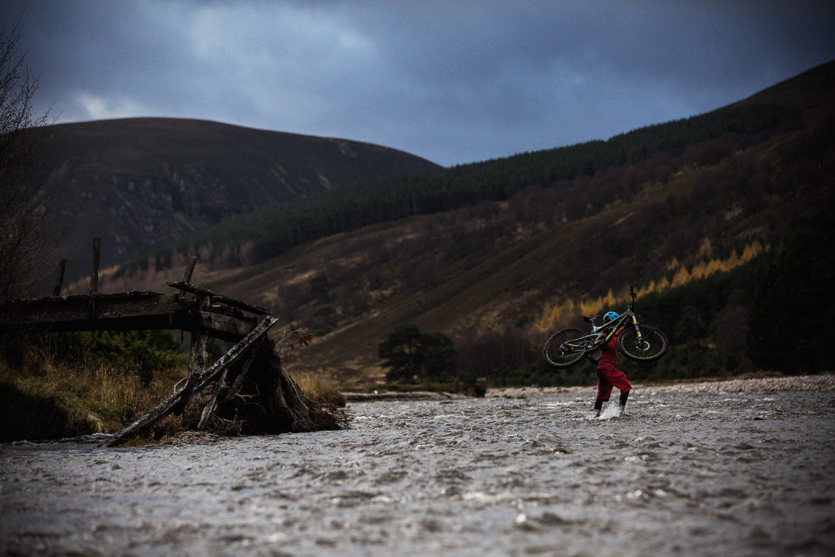 The bridge didn't quite go far enough. Photo: Ross Bell.