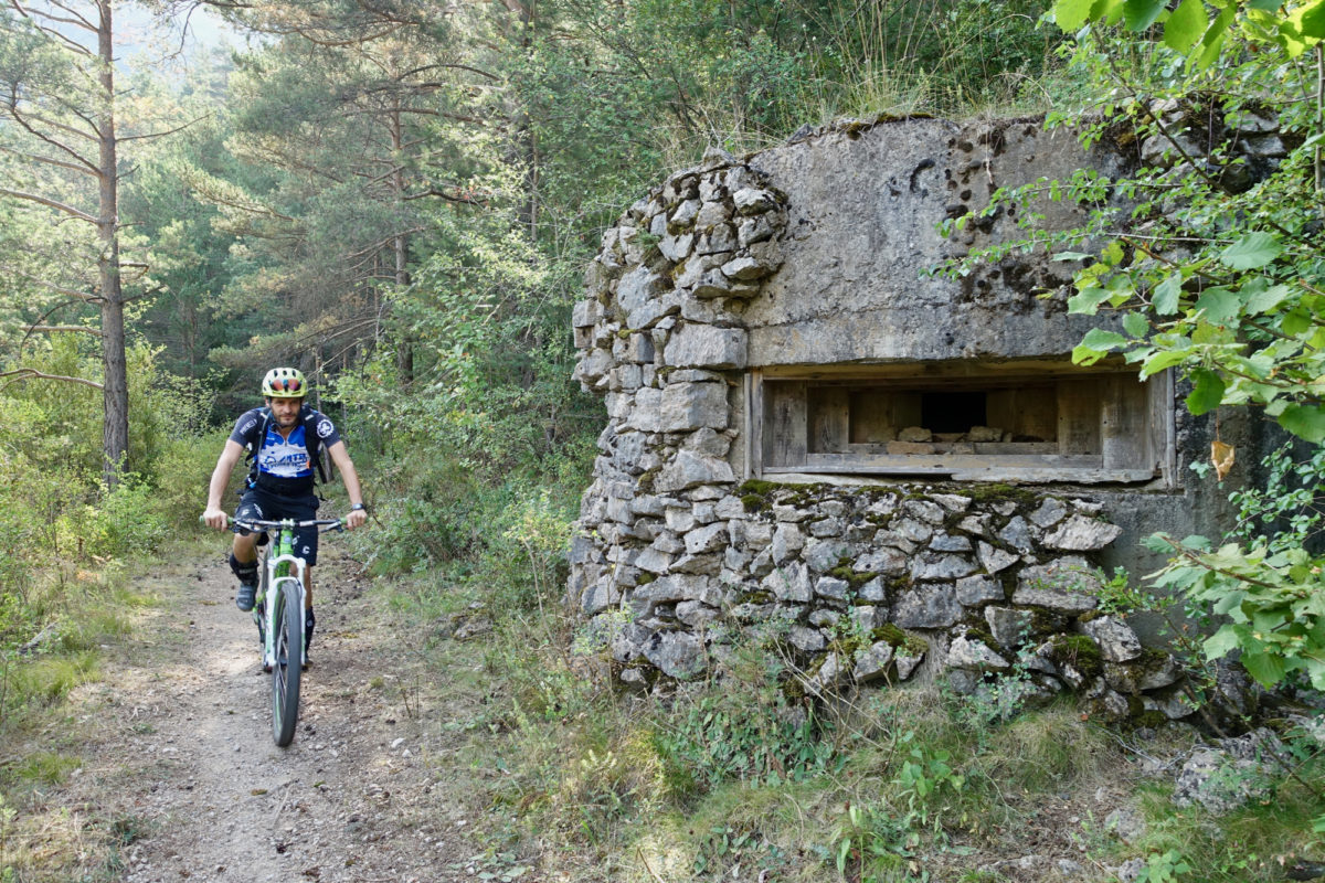 During this ride I learned the unique history of these pre-World War II defense bunkers.