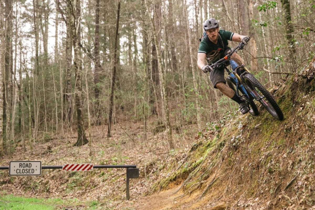 Riding in Ellijay, GA, at the Maxxis Appalachian Summit (photo: John Watson / theradavist.com)