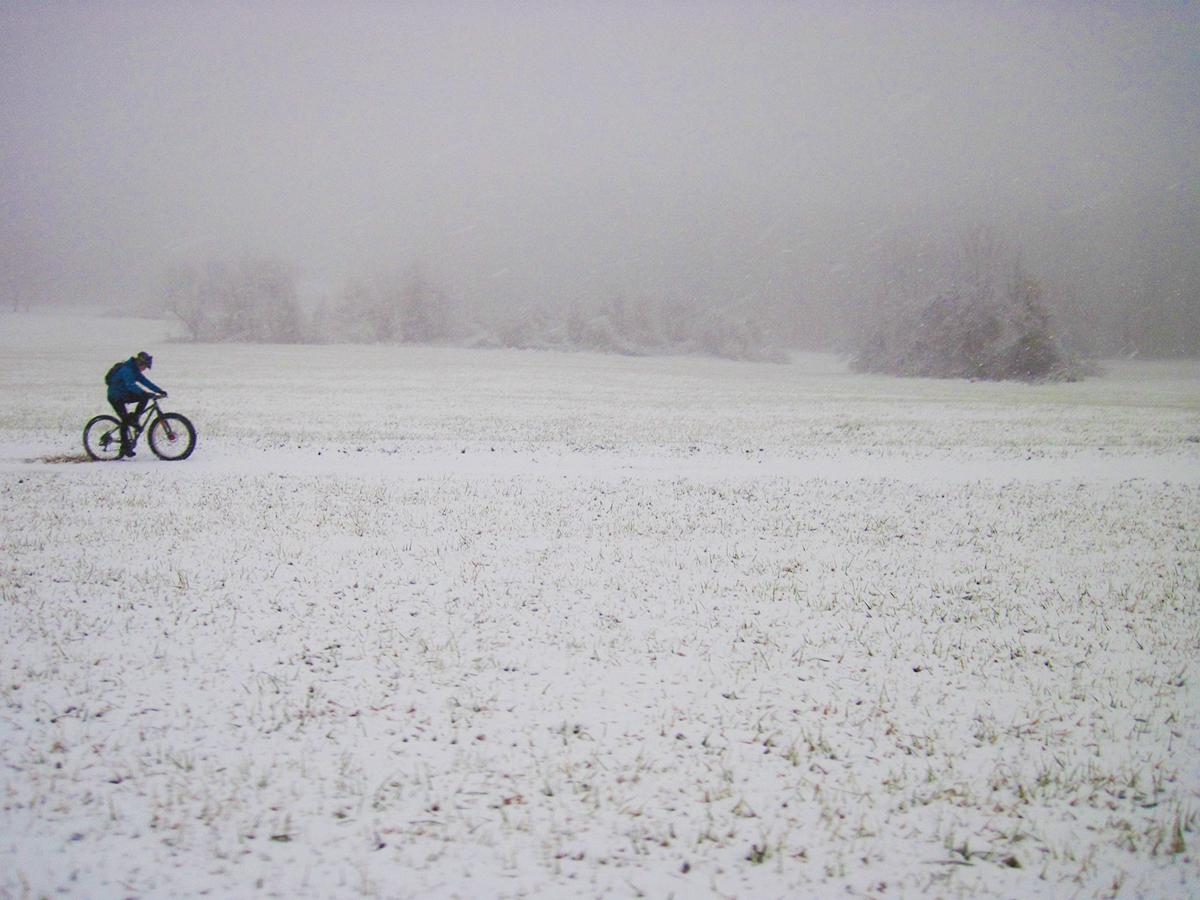 Just keep pedaling. Photo: Evan Gross
