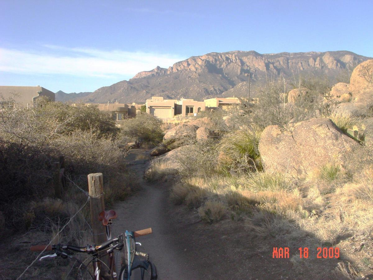 Sandia Mountains Foothill Trail