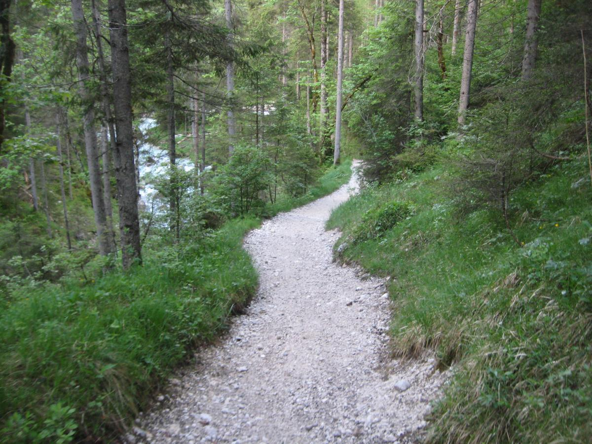 Garmisch to Reintal