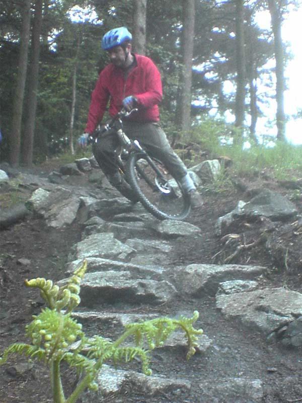 25c92736c88 Kirroughtree Mountain Bike Trail in Newton Stewart In Dumfries ...