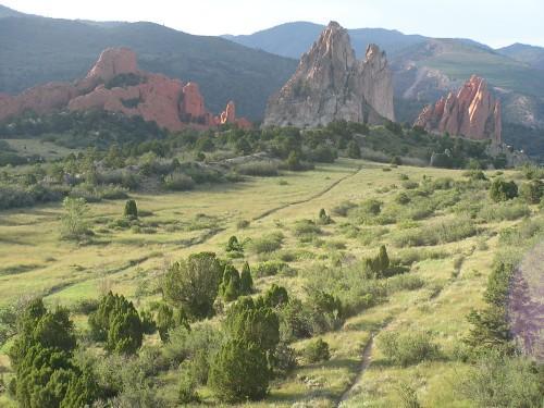 Garden of the Gods: Ute Trail Mountain Bike Trail in Colorado ...