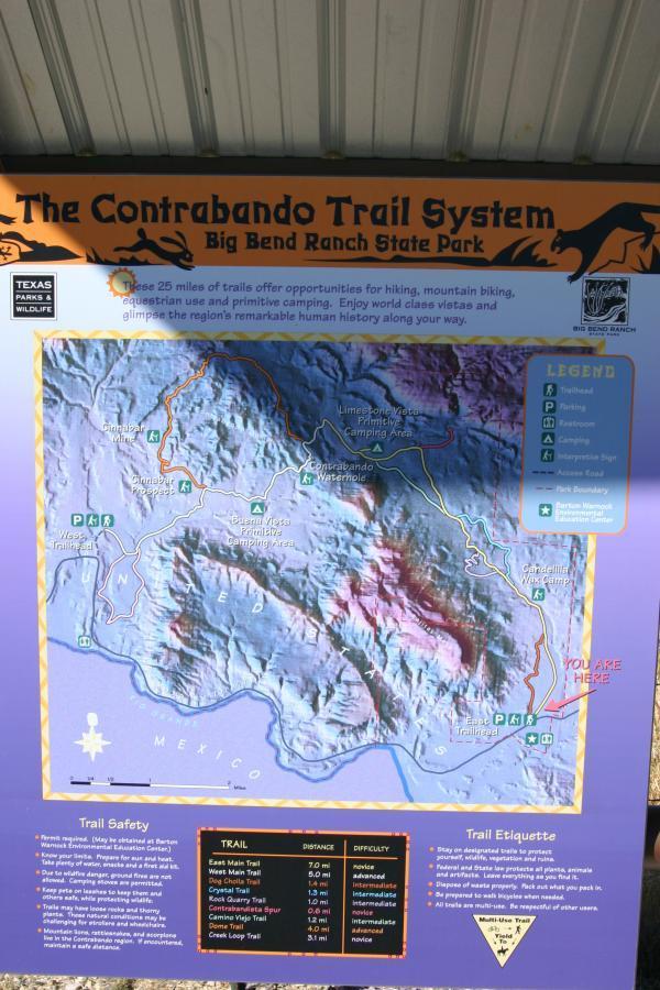 Contrabando Trail