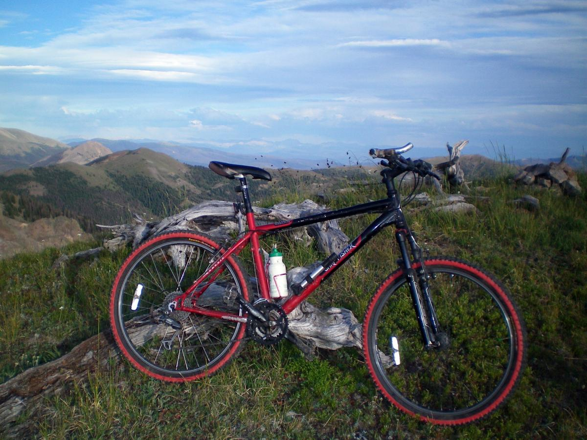 Arapaho Ridge Mountain Bike Trail In Kremmling Colorado